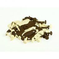 Анкеры кремово-коричневые с брадсами