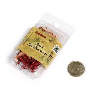Красные брадс в наборе (50 шт)