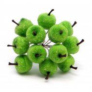 Букетик из зеленых яблок в сахаре