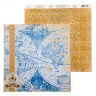 Бумага атлас, коллекция карта странствий