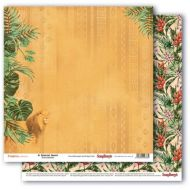 Бумага царь зверей, коллекция тропикана