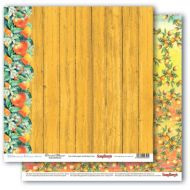Бумага цитрусовый сад, коллекция средиземноморье