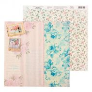 Бумага цветочные паттерны, коллекция Shabby day