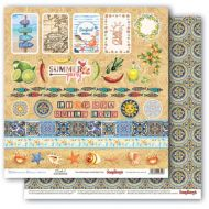 Бумага карточки 2, коллекция средиземноморье
