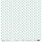 Бумага клевер, коллекция мятное лето
