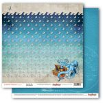 Бумага морские глубины, коллекция сокровище пиратов
