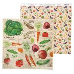 Бумага овощи, коллекция рецепты счастья