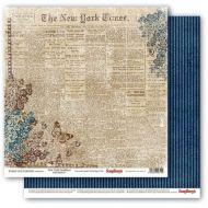Бумага первые полосы газет, коллекция архив