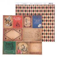 Бумага плашки, коллекция в стране чудес