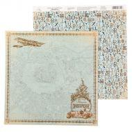 Бумага приключение, коллекция карта странствий