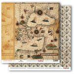 Бумага старинная карта, коллекция сокровище пиратов