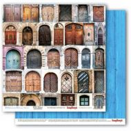 Бумага старинные двери, коллекция средиземноморье