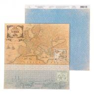 Бумага ты найдешь свой путь, коллекция карта странствий
