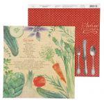 Бумага вкуснейший салат, коллекция рецепты счастья