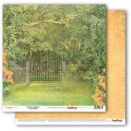 Бумага зеленый сад, коллекция тропикана