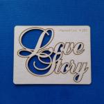 Чипборд Love Story
