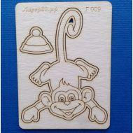 Чипборд обезьянка