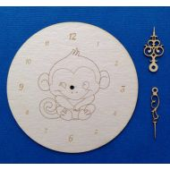 Циферблат с обезьяной