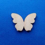 Декоративный элемент бабочка 30 мм