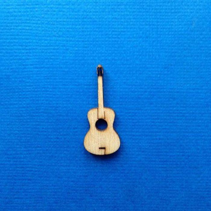 Декоративный элемент гитара 30 мм для скрапбукинга