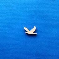 Декоративный элемент голубь 15 мм