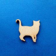 Декоративный элемент кошка 30 мм