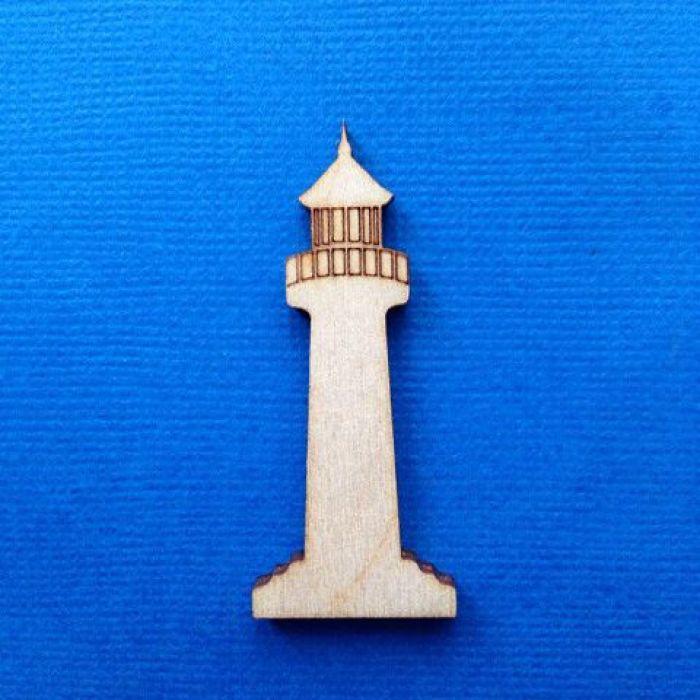 Декоративный элемент маяк 50 мм для скрапбукинга