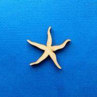 Декоративный элемент морская звезда 30 мм