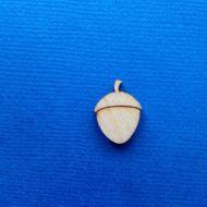 Декоративный элемент жёлудь 15 мм