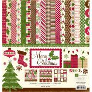 Набор бумаги Merry Christmas 30,5 х 30,5 см