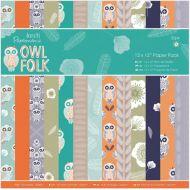 Набор бумаги Owl Folk, 30 х 30 см