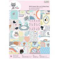 Набор бумаги с высечкой  Little Meow А4