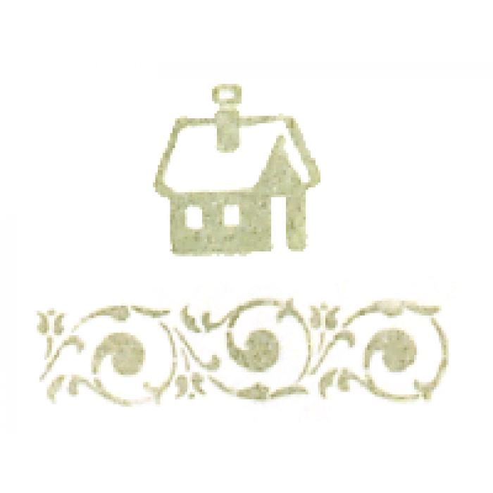 Штемпельная подушечка cерая спаржа для скрапбукинга