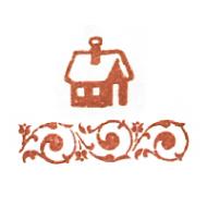 Штемпельная подушечка сангина