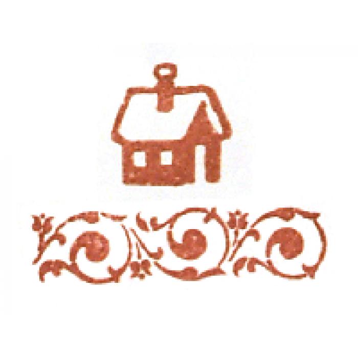 Штемпельная подушечка сангина для скрапбукинга