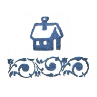 Штемпельная подушечка восточный синий