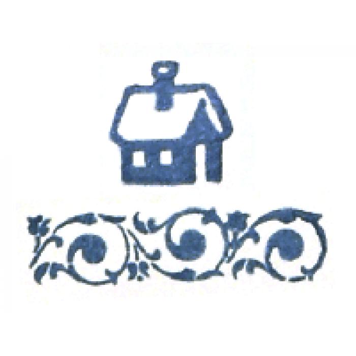 Штемпельная подушечка восточный синий для скрапбукинга