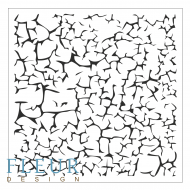 Трафарет трещины 15,5х15,5 см