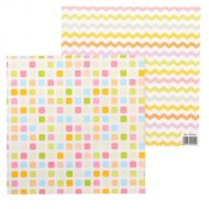 Бумага квадраты, коллекция маленькое счастье