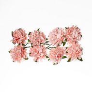 Астры из бумаги нежно-розовые