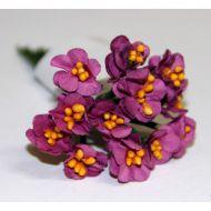 Букет из цветов фуксия