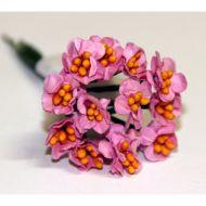 Букетик из розовых цветов