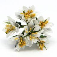 Букетик с белыми цветочками