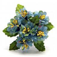Букетик с голубыми цветочками