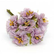 Букетик с сиреневыми цветами 2