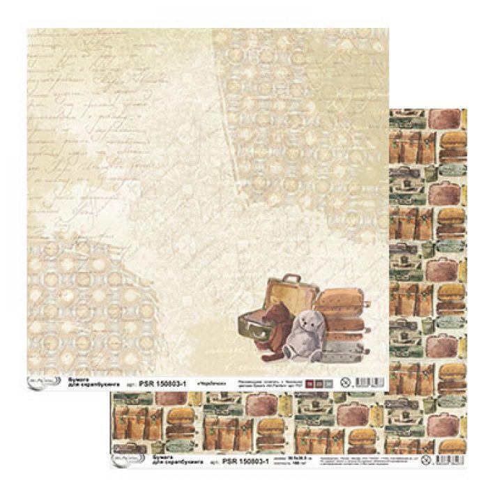 Бумага 1, коллекция чердачок для скрапбукинга