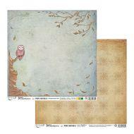 Бумага 3, коллекция зачарованный лес