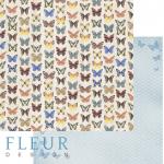 Бумага бабочки, коллекция летний сад