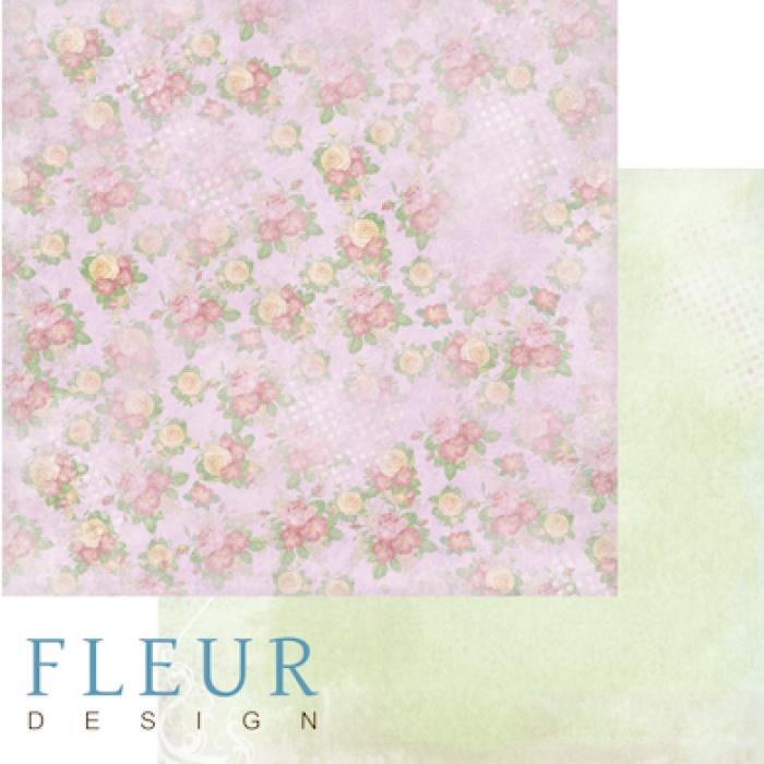 Бумага цветочная карамель, коллекция полет души для скрапбукинга
