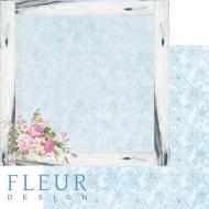 Бумага цветочная рамка, коллекция летний сад